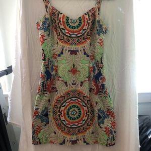 Mara Hoffman Aztec Pattern Mini dress